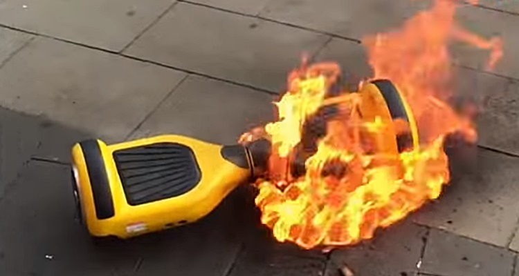 hoverboard-on-fire