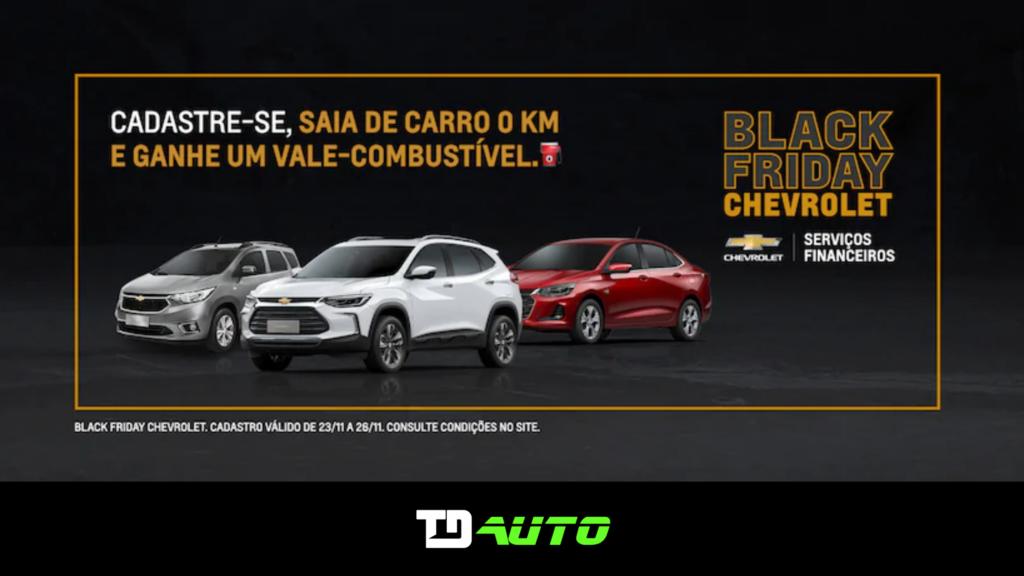 Mega promoção na Black Friday Chevrolet