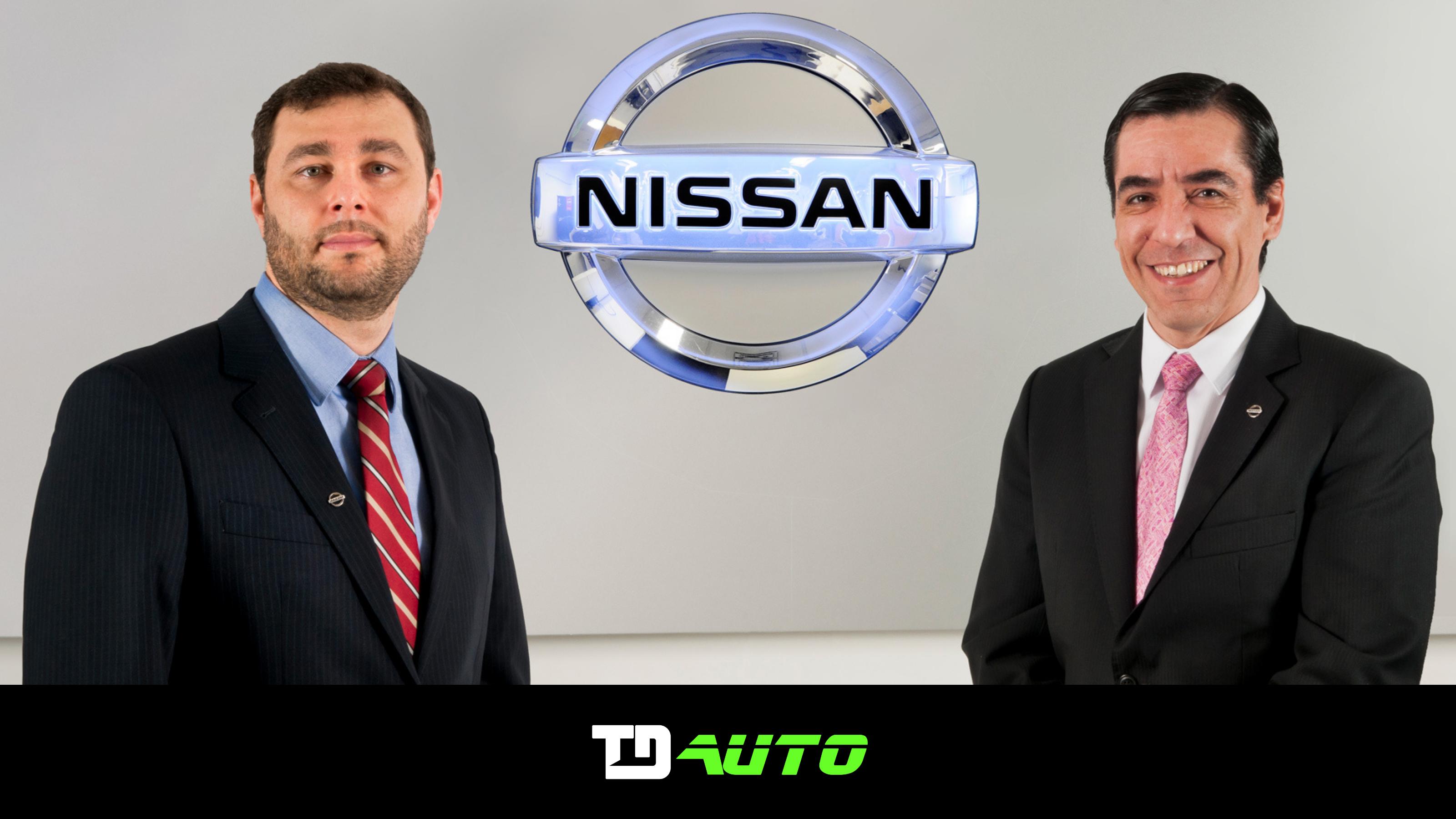 Diretores de Marketing e Vendas da Nissan Brasil
