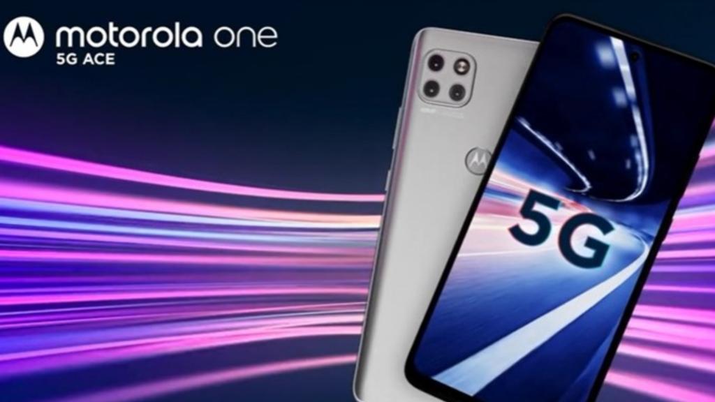 Moto One 5G Ace é anunciado na CES 2021